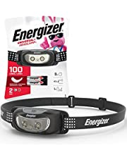 Energizer LED Headlamp Flashlight, Super Bright, Compact Sport Head Lamp, Perfect Running Headlamp,Batteries Included
