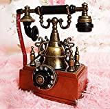 YANGLILI Phone, Creative Retro Phone Model - Nostalgic Phone Decoration - Living Room Cafe Decoration - Decorative Home Decoration Props Decoration