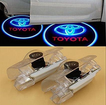 2 x CREE LED puerta paso cortesía luz láser sombra logotipo ...