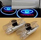 2X Cree LED Door Step Courtesy Light Laser Shadow Logo Projector Lamp For Toyota Verso E'Z Alphard Venza GT86 FT86 GTS 4 Runner Highlander CNAutoLicht