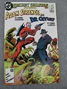 Secret Origins #17 (Adam Strange and Dr. Occult)