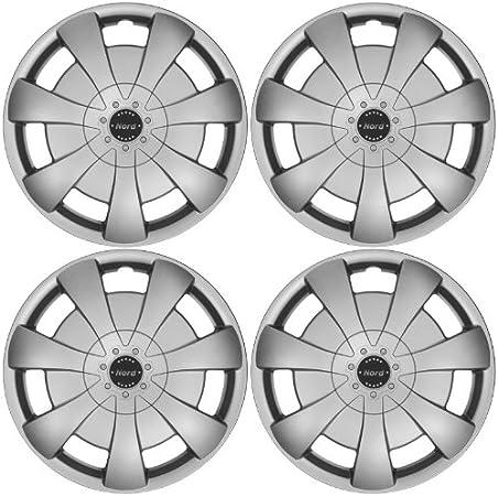 Tapacubos NORD 15 pulgadas apta para Audi 80, 90, 89, B3, B4, Cabrio, 100, 200, C4, A1, A2, A3 8L: Amazon.es: Coche y moto