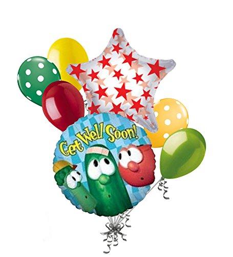Well Soon Balloon Bouquet - 4