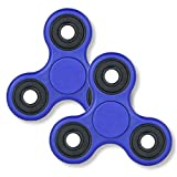 【2個セット】ハンドスピナー NEW ブルー Fidget Hand Spinner 指スピナー ボールベアリング フォーカス玩具 子供大人に適用 ストレス解消 ロワジャパン