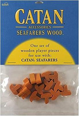 Catan Seafarers - Base de Madera, Color Naranja: Amazon.es: Juguetes y juegos