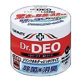 カーメイト 車用 消臭剤 ドクターデオ(Dr.DEO) 置き型 ウイルス除去 無香 安定化二酸化塩素 販売ルート限定品 100g DSD4