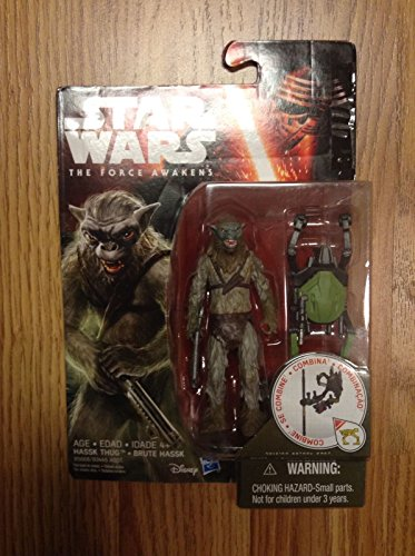 Star Wars Ep 7 The Force Awakens HASSK THUG Build Weapon 3.75 Figure (Customs Halloween Pirate)
