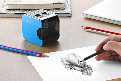 SMARTRO Electric Pencil Sharpener, Best USB or Battery Operated Heavy Duty for No.2 and Colored Pencil Photo #9