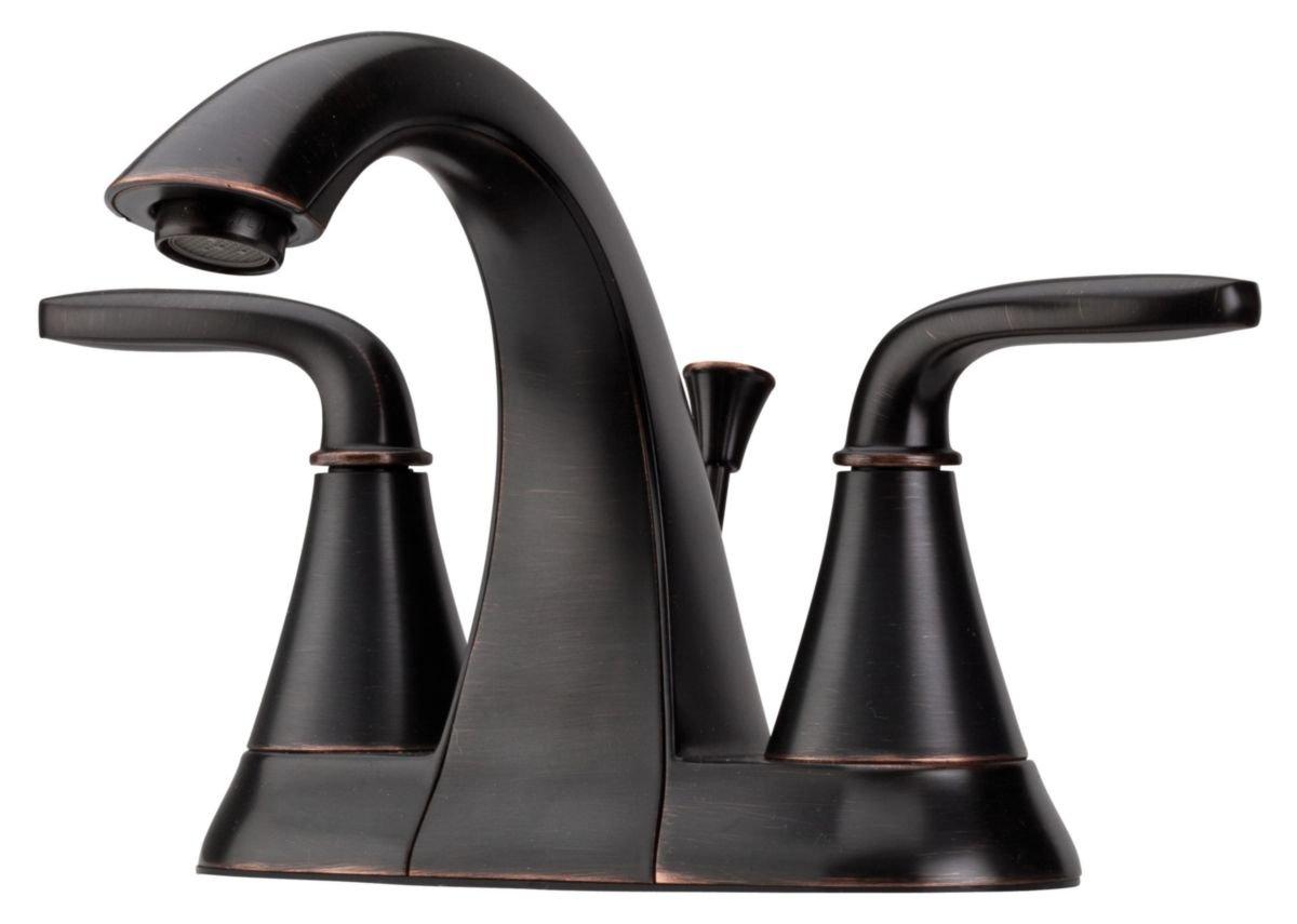 Pfister LF048PDYY Pasadena 2 Handle 4 Inch Centerset Bathroom Faucet ...