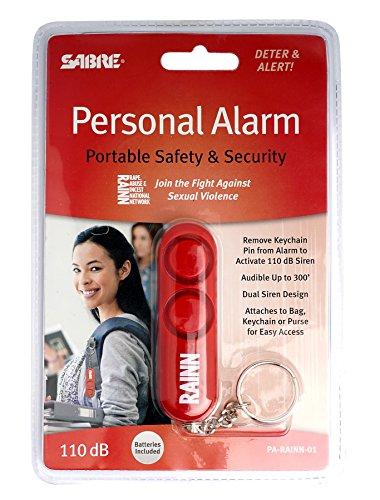 SABRE PA-RAINN-01 SABRE PERSONAL SAFETY ALARM   -