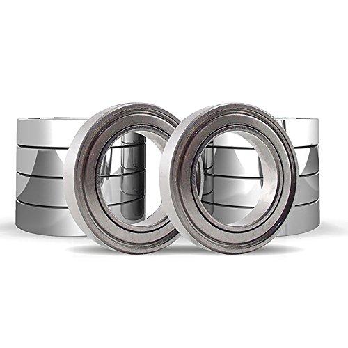 SODIAL 10 Pack - R4-ZZ (1/4 x 5/8 x 10/51 inch) Ball Bearing