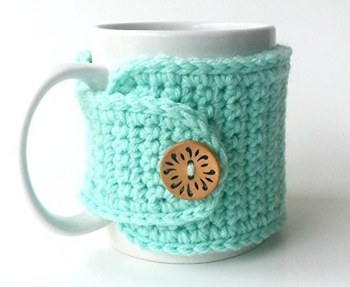 Tea Cozy Mint Mug Hugger ()