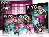 Allem PiYo Base Kit, Chalene Johnson's 5 DVDs Yoga