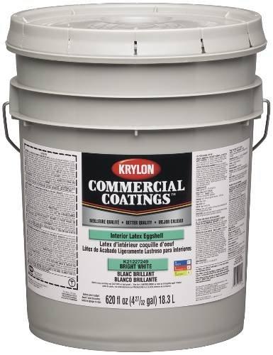 Sherwin Williams K21220260 20 Eggshell 5 Gallon Antique White Krylon Interior Latex Paint