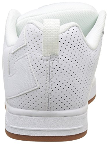 Zapatillas Blanco Dc Court Para white Hombre gum Shoes Graffik white YwtwfU