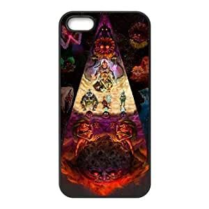 Majora's Mask iPhone 5 5s Cell Phone Case Black xlb-251301