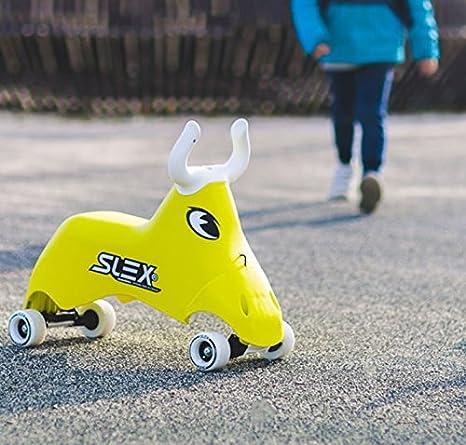 Portador Rodeo Bull Dès 2 años, Kart con ruedas para niños con forma de toro - Vehículo para niños.: Amazon.es: Juguetes y juegos