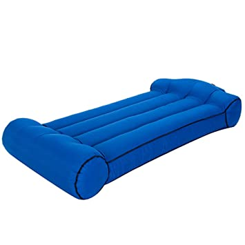 HXQXPY Sofa Inflable Impermeable Tumbona Hinchable de ...