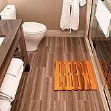 Thirteen Chefs Premium Wooden Bath Mat and Outdoor