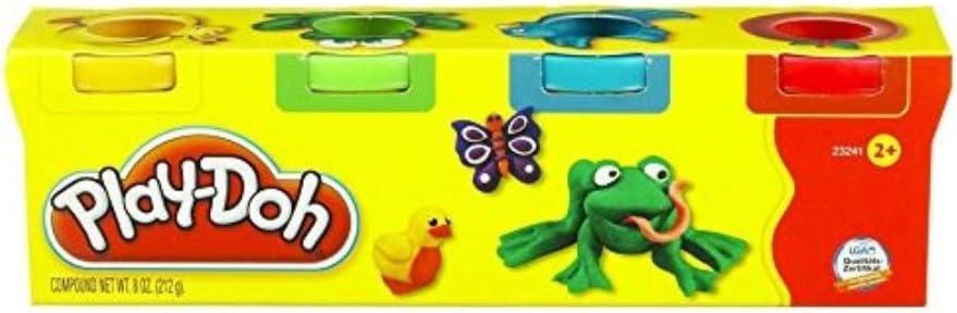 Play Doh - Mini 4 Pack con plastilina, Juego Creativo (Hasbro 23241148): Amazon.es: Juguetes y juegos
