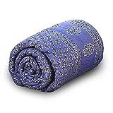 Little India Pure Cotton Jaipuri Handblock Single Bed Comforter 209