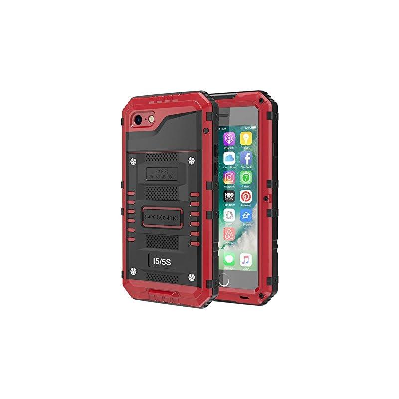 Seacosmo iPhone 5S Waterproof Case, Full