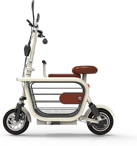 PLDDY Bolsa de Mascotas Bicicleta eléctrica para Mascotas, Pequeño ...