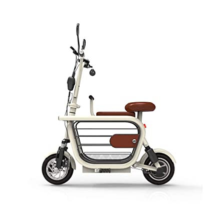 Amazon com : QIAOXC Pet Electric Bicycle, Small Folding Dog Scooter