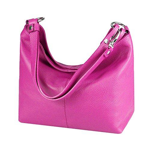 mujer OBC para Couture Rosa hombro Bolso cm coñac Marrón de Only al Beautiful BxHxT 28x24x14 cuero fq8rEfzwx