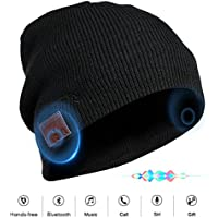 VOUO Wireless 4.1 Bluetooth Beanie Hat with Mic