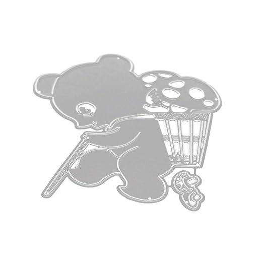 Juego de Troqueles,DIPOLA DIY Troqueles Scrapbooking Navidad en Relieve Troqueles de Corte Plantillas Molde para Bricolaje Álbum de Scrapbooking Tarjeta de ...