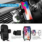 Wireless Car Charger, Automatic Induction Wireless