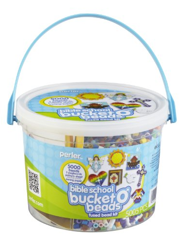 - Perler Fused Bead Kit, Bible School Bucket o' Beads