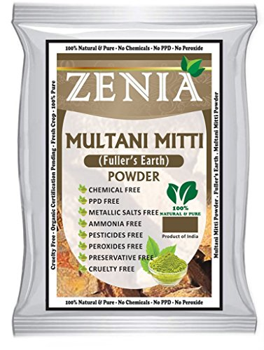 100 grams Zenia Multani Mitti Powder - Fullers Earth Clay Natural Facial (Earth Clay)