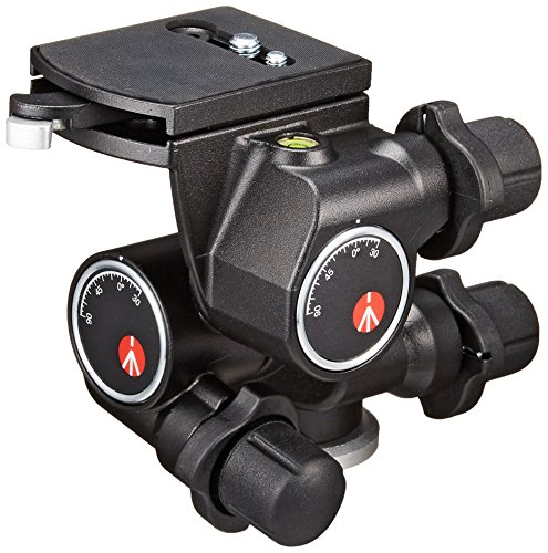 Manfrotto 410 Junior Geared Head – Supports 11 lbs (5kg)
