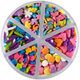 Wilton 710-1177 Flower Medley Food Decoration, Bright, 2.4-Ounce