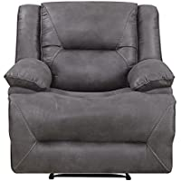 Mstar Everly Lay Flat Wall Away Recliner with Memory Foam Seat Topper