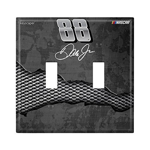 uble Toggle Light Switch Cover NASCAR (Dale Earnhardt Jr Light)