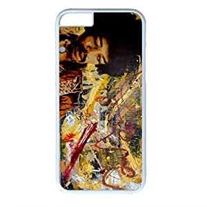Cool Boy Customized Design PC White Case for Iphone 6 Melancholy