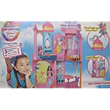 BARBIE Dreamtopia RAINBOW COVE PRINCESS CASTLE Playset is FULLY FURNISHED w 3 LEVELS & 3+ FEET Tall & SHIPPER BOX (2015)