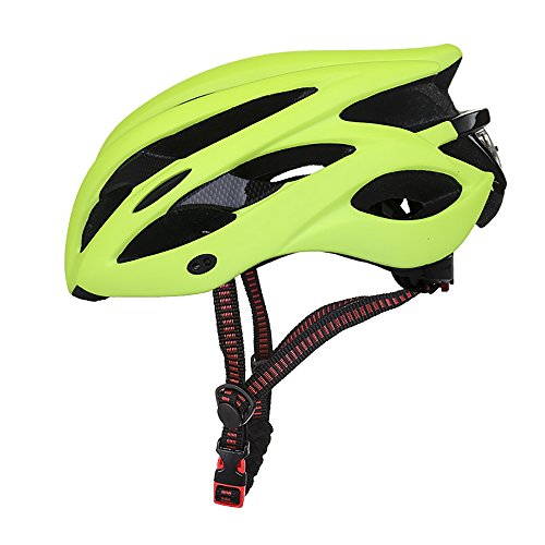 ChezMax-Adjustable-Cycling-Helmet-with-Visor-and-Rear-Light-for-Men-and-Women