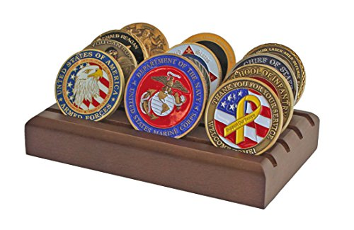 Reinhart-Challenge-Coin-Holder-Solid-African-Mahogany-for-12-Coins
