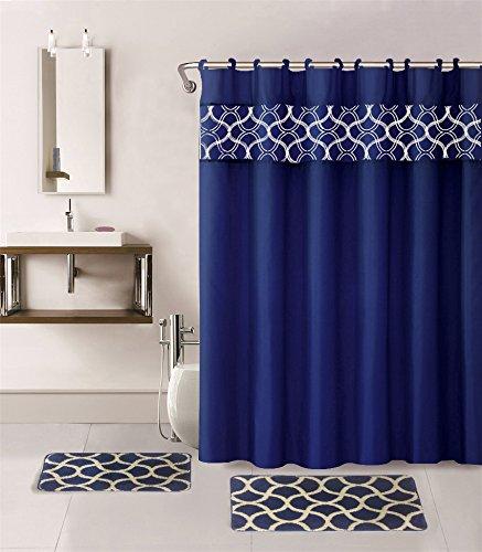 Bath Accessories Set Shower Amazon Com