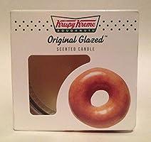 2 New Krispy Kreme Doughnuts Candle Original Glaze 3oz
