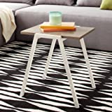 Mainstays Modern and Functional Style Conrad Stacking Side Table - White