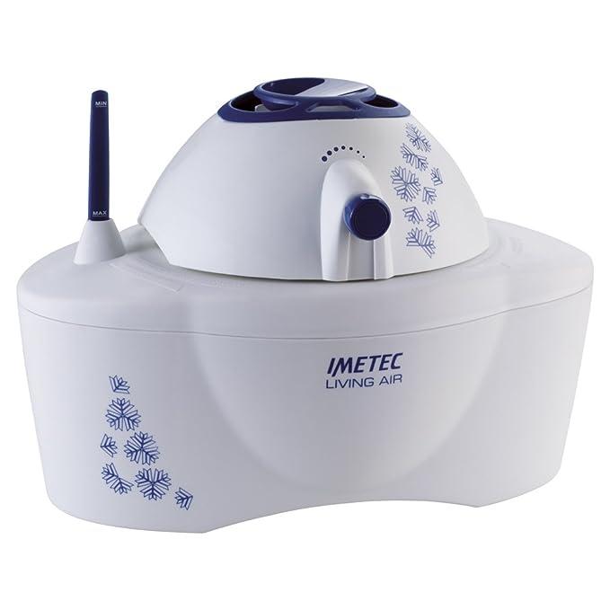 Imetec Living Air HU-200 - Humidificador, 700 W, vapor seco, autonomía máxima 12 h
