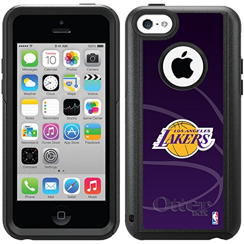 Coveroo Commuter Series Cell Phone Case for iPhone 5c - Retail Packaging - Los Angeles Lakers Basketball