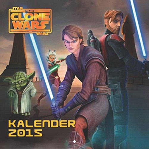 Star Wars The Clone Wars Wandkalender 2015