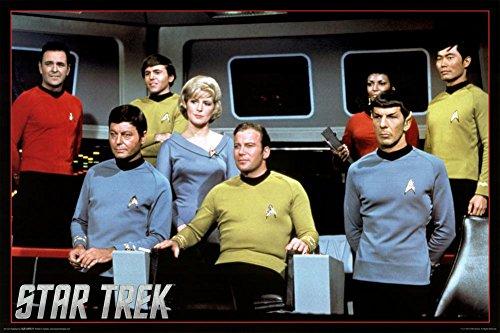 Star Trek- Cast Poster 36 x 24in (Star Trek Poster)