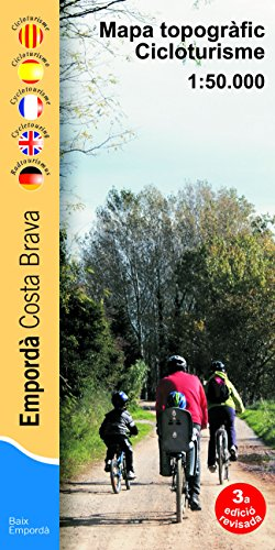 Descargar Libro Empordá, Costa Brava. Mapa Topográfico Cicloturista. Escala 1:50.000. Editorial Piolet. Vv.aa.